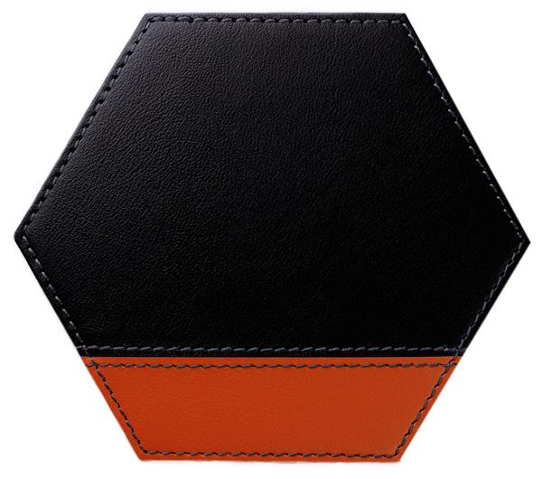 六角*黒×テラコッタ