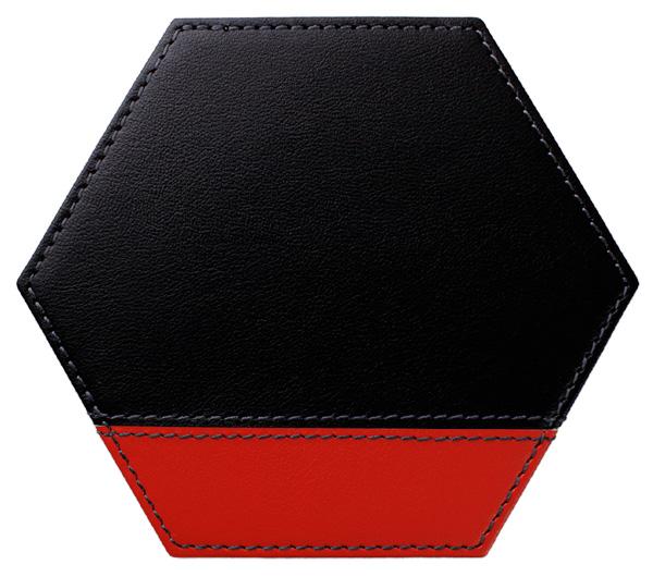 六角*黒×レッド