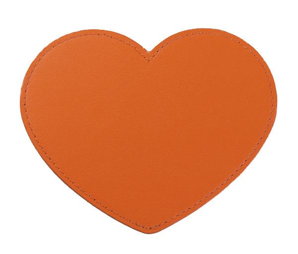 ハート型*オレンジ