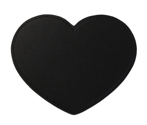 ハート型*ブラック